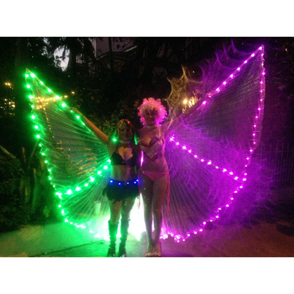 Green Purple Led Isis Wing