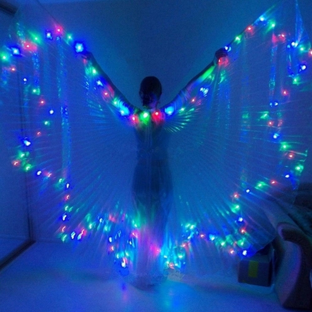 Multi Colour Led Isis Wing