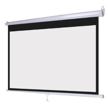 Projection Screen With Wall Hanging