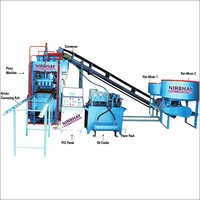 Fully automatic vibro with fly ash brick machine
