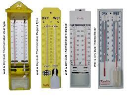Wet And Dry Thermometer
