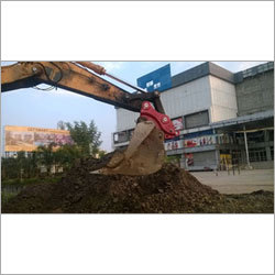 Bucket Crusher Machine