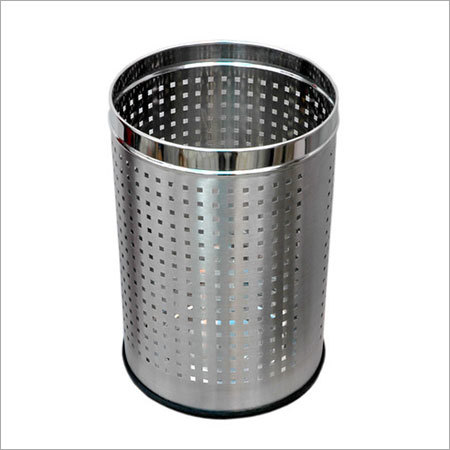 SS Square Perforated Bin