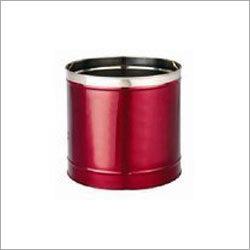 Round Stainless Steel Planter