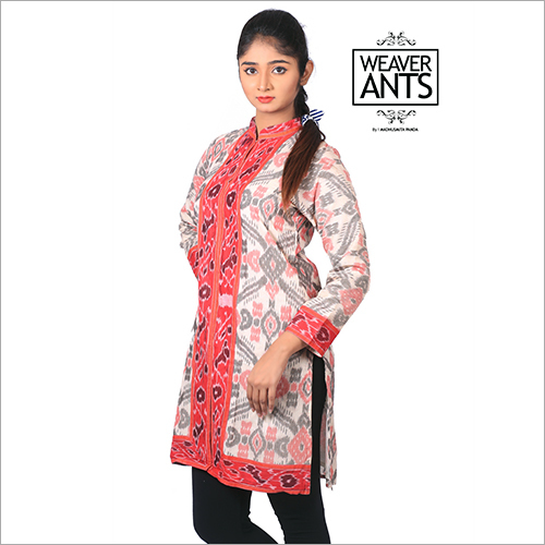 Cotton Hand Weaved Cotton Kurti Odisha Handloom