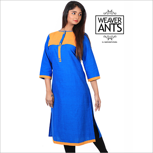 Pure Cotton Officewear Fcorporate Kurti