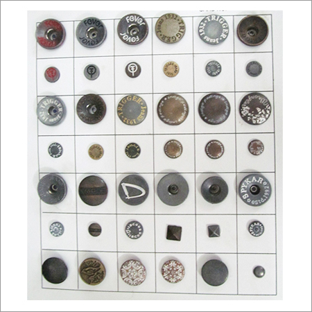 Metal Jeans Buttons