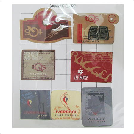Leather Printed Labels