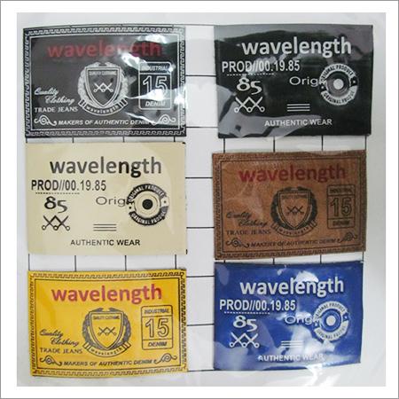 Leather Garment Labels