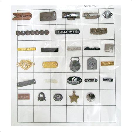 Metal Clothing Labels