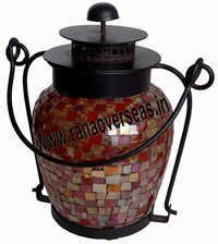 Iron Glass Lantern