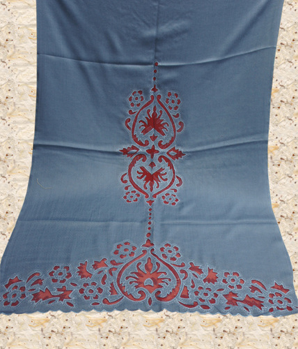 Pashmina Shawls with Cutting Style
