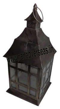 Iron Metal Lantern 10430