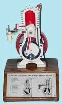 Two Stroke Petrol Engine Model