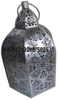 Iron Metal Tea Light Holders, Lantern 10386