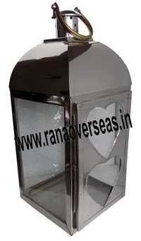 Stainless Steel Candle  Lantern 10400
