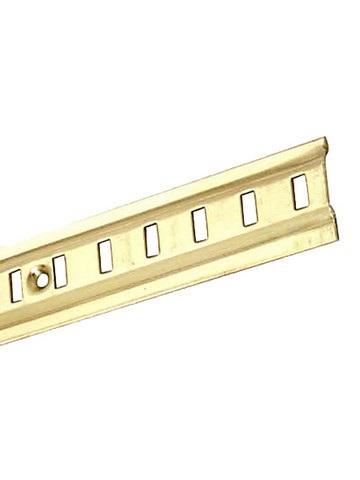 Brass Shelving Channel