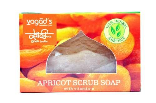 Vagad's Khadi Apricot Scrub Soap