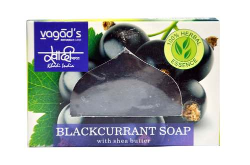 Vagad's Khadi Black Current Soap
