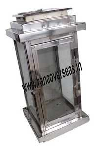 Steel Candle Lantern 10401