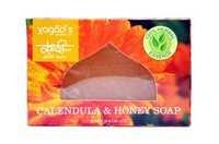 Vagad'S Khadi Calendula & Honey Glycerin  Hand Made Organic Soap .