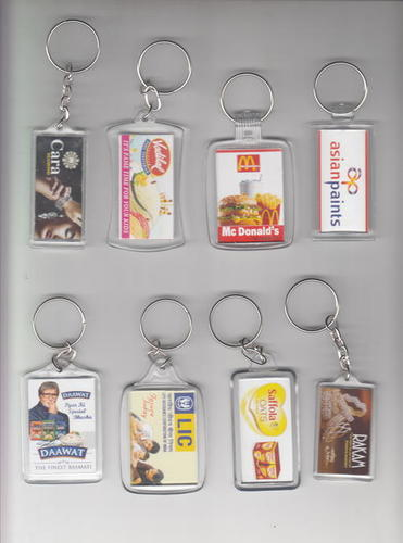 Crystal Photo Keychains