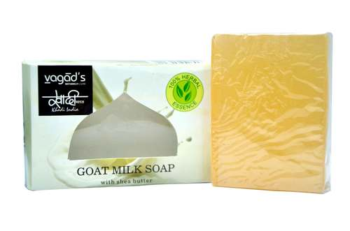 Vagad's Khadi Goat Milk glycerin  hand made organic soap .