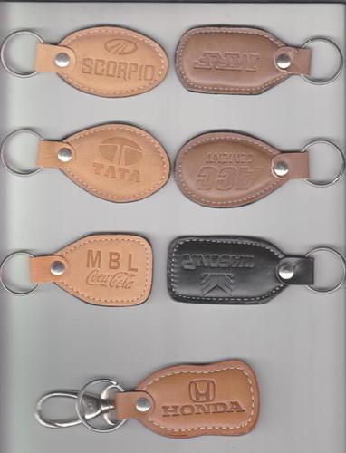 Leather keychians