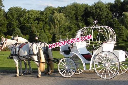 Wedding Pumpkin Cinderella Carriage