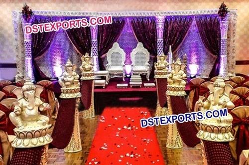 New Design Wedding Reception Stage