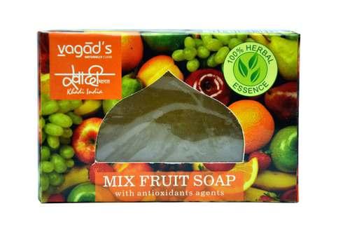 Vagad's Khadi Mix Fruit Glycerin Handmade Organic Soap