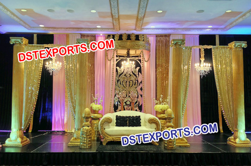 Beautiful Wedding Stage Decor