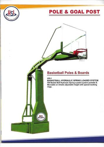 Basketball Poles & Board