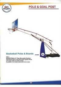 Basketball Poles & Board