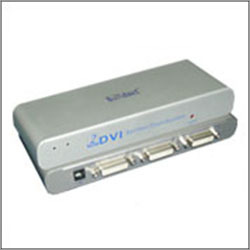 2 Port DVI Video Splitter