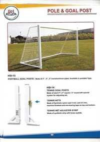 Football Goal Post & Tennis Goal Post