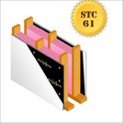 Soundproof Partition Wall STC-61