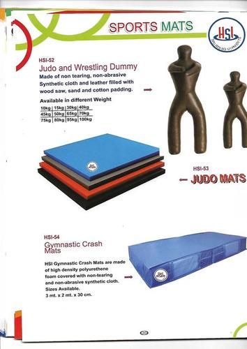 Judo Mats and wrestling Dummy