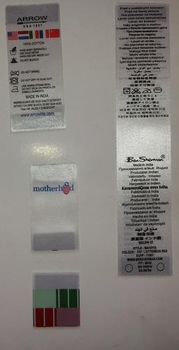 Taffeta Label