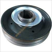 Starting Pulley Double Belt Sheet Metal cup