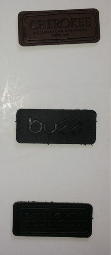 Leather patches for Garments