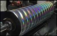 Self Adhesive Holographic Rainbow Pillar Films