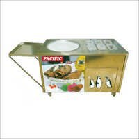 Single Pan Fried Ice Cream Machine