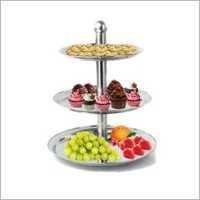 J Tier Cake Stand-S.S.