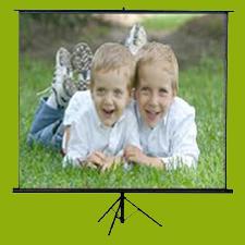 tripod screen