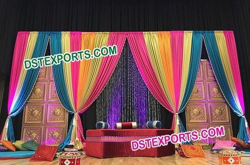 Wedding Mehandi Sangeet Stage