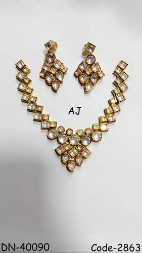 Kundan Bridal Necklace Set