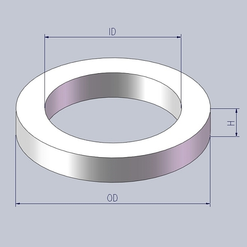 Tungsten Carbide Ring for Mechanical Seal