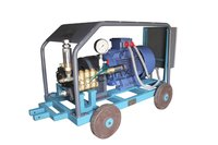 HAWK make Triplex Plunger Pumps