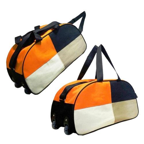 Four Color Wheeler Duffle Bag